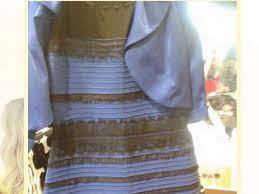 coloured dress blue and black or white and gold how the dress colour you see
