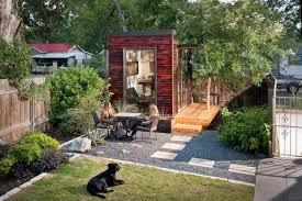 bureau de jardin design design exterieur bureau de jardin amenagement modere bardage bois
