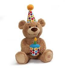 happy birthday singing happy birthday singing teddy gund stuffed safari