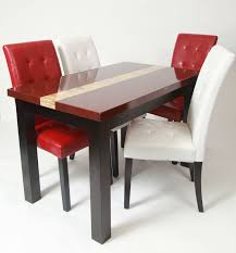 Red Dining Room Set by Roundhill Furniture