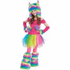 halloween costumes for 6 year olds rockin u0027 rainbow monster kids costume walmart com
