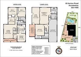 Traditional Queenslander Floor Plan Halfwaytree Photography Pty Ltd Site Plans