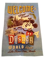 throw blanket world walt disney world resort fleece