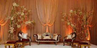 muslim wedding stage decoration http intimatematrimony com