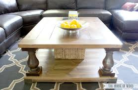 Balustrade Coffee Table Restoration Hardware Coffee Table