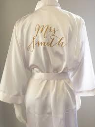 Lingerie Bride Bride Robe Wedding Day Robe Matching Bridesmaid Robes Brideal