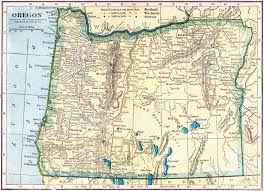 Portland Oregon County Map by Oregon Genealogy U2013 Access Genealogy