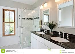 bright white remodel bathroom stock photography image 14286062