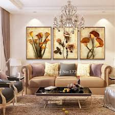 Living Room Art Paintings Online Get Cheap Flower Art Painting Aliexpress Com Alibaba Group