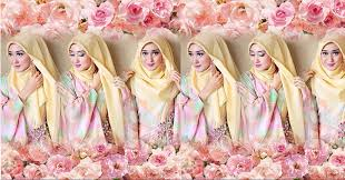 tutorial hijab resmi yuk coba tutorial hijab formal ala dian pelangi okezone lifestyle