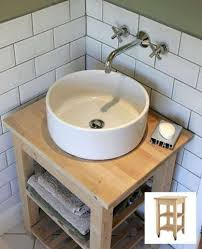 Bathroom Vanity With Vessel Sink by Best 25 Diy Bathroom Vanity Ideas On Pinterest Half Bathroom