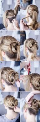 Frisuren Lange Haare Hochstecken Einfach by Die Besten 25 Lockere Hochsteckfrisuren Ideen Auf