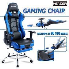 high back computer racing gaming chair ergonomic executive home