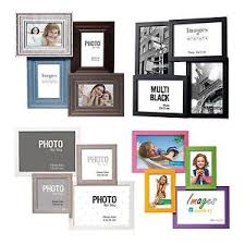 rustic shabby chic kids colour black u0026 white multi photo holder