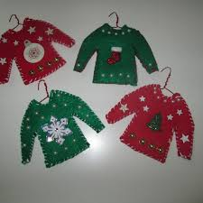 ornaments sweater ornaments in