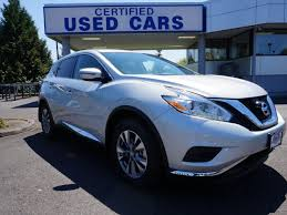 New And Used Cars Certified new and used nissan murano for sale in portland or u s news