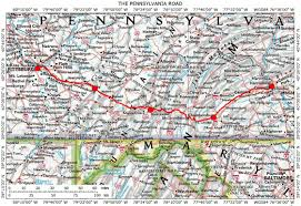 Pennsylvania County Maps by Pennsylvania Forbes Road