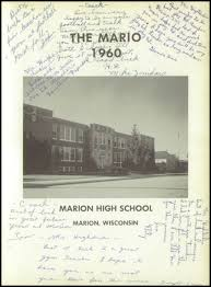 marion high school yearbooks explore 1960 marion high school yearbook marion wi classmates
