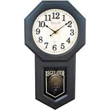 clock log cabin clocks large rustic wall clock black bear cabin
