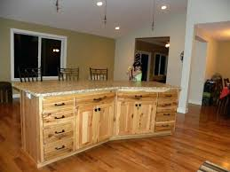 knotty hickory cabinets kitchen natural hickory cabinets full size of cabinets rustic rustic kitchen