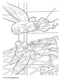 tinkerbell flying coloring pages print coloring pages