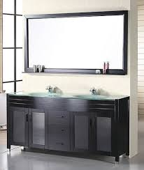60 bathroom mirror 60 inch modern double sink bathroom vanity in espresso uvde016a61