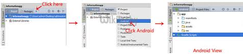 android package name android tutorial change package name in android studio by
