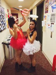 halloween costume angel u0026 devil college pinterest halloween