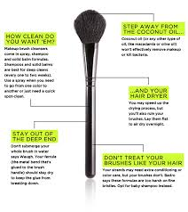 15 easy ways to clean makeup brushes brit co