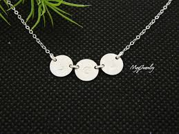 children s initial necklace for 43 mothers necklace with initials mothers birthstone necklace 14kt