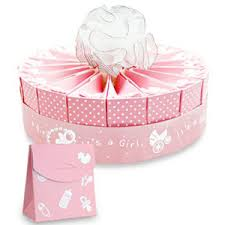 favor favor baby 1 tier baby shower favor cake kit it s a girl favor cake kit