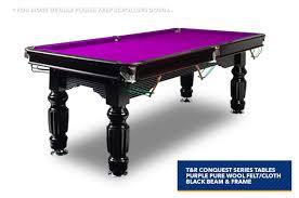 purple felt pool table 7ft purple slate pool billiards snooker table