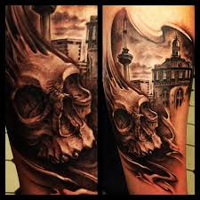 did this in amsterdam at the tattoo museum the city in the