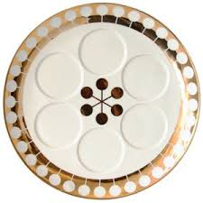 modern seder modern seder plates apartment therapy