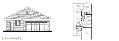 Florida Floor Plans For New Homes Semi Custom Home Floor Plans North Florida Home Builders