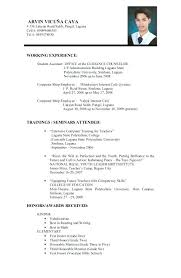 sample resume for overseas jobs u2013 topshoppingnetwork com