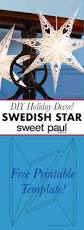 swedish paper star with free printable download sweet paul magazine
