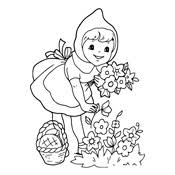 coloring red riding hood 4650