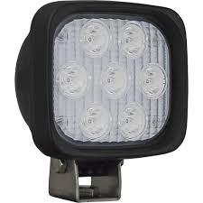 vision x utility market series narrow beam led work light u2014 4in