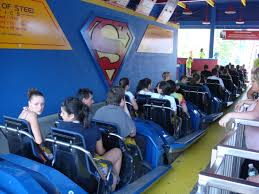 Six Flags Agawam Mass Superman The Ride