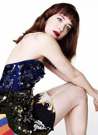 Vanity Johnson Love Fifty Shades Dakota 2014 Vanity Fair