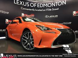 lexus rc price canada new orange solar flare 2016 lexus rc 350 awd f sport series 2
