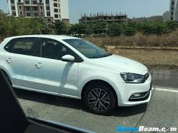 volkswagen polo headlights modified volkswagen polo allstar vento u0026 skoda rapid facelift caught