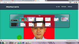 membuat website bootstrap membuat cv online dengan web profile bootstrap untuk resume