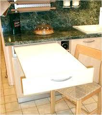 table de cuisine escamotable table escamotable cuisine ikea améliorer la première impression