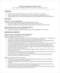 Sample Staff Nurse Resume Pediatric Nurse Resume 5 Pediatric Nurse Resume Best Example