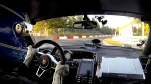 2014 porsche 918 spyder onboard plete record lap on the