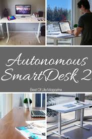 Best Sit To Stand Desk by Autonomous Smartdesk 2 Review And Video The Best Of Life Magazine