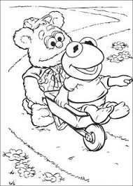 muppet babies coloring picture coloring activities