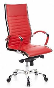 Red Leather Office Chair Real Leather Computer Chair Great Leather Executive Office Chair